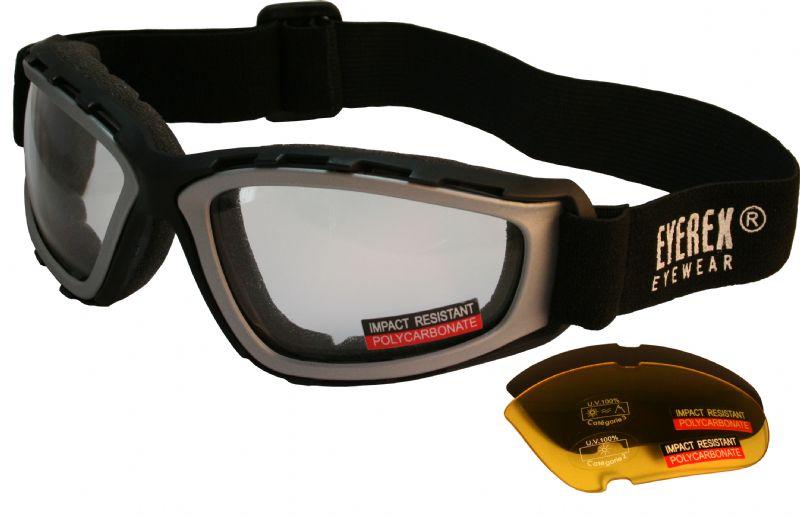 Free silver goggle
