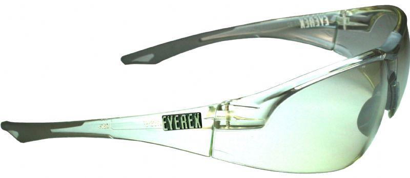 Geko silber transparent mit Korrektur-Clip