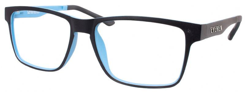 Klipper 8002 schwarz-blau mit Einstärkenkorrektur