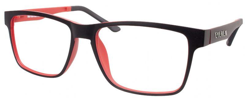Klipper 8002 schwarz-rot mit Einstärkenkorrektur
