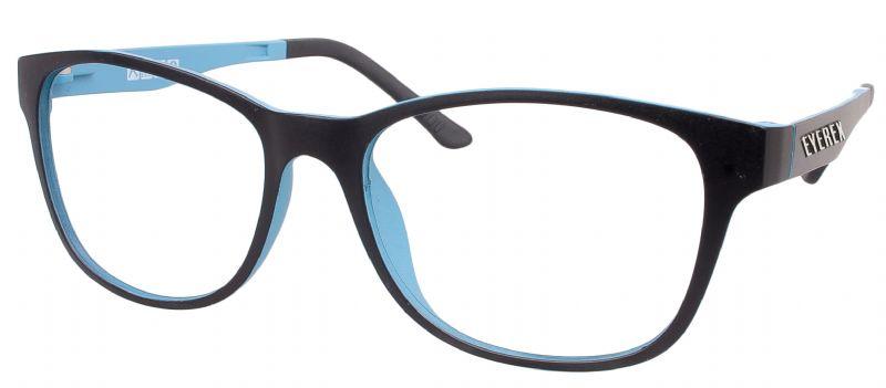 Klipper 8003 schwarz-blau mit Einstärkenkorrektur