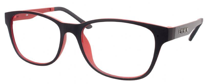 Klipper 8003 schwarz-rot mit Einstärkenkorrektur