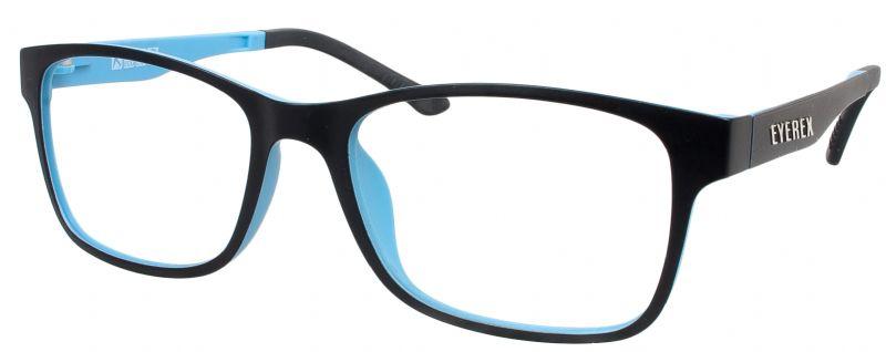 Klipper 8004 schwarz-blau mit Einstärkenkorrektur