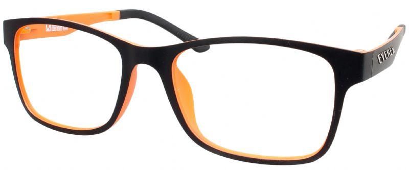 Klipper 8004 schwarz-orange mit Einstärkenkorrektur