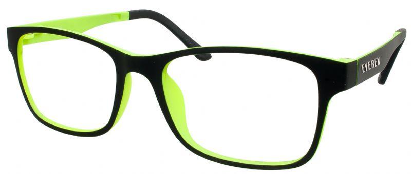 Klipper 8004 schwarz-grün mit Einstärkenkorrektur