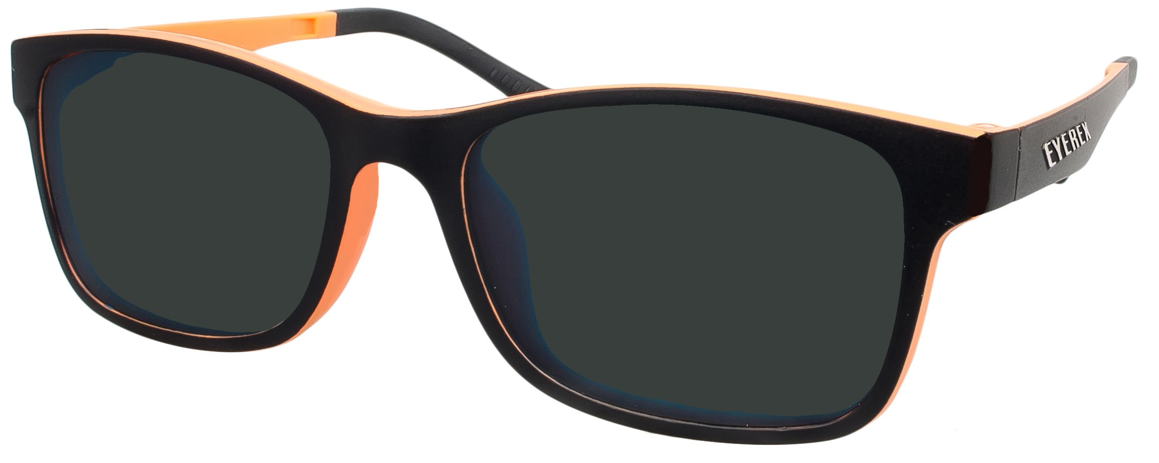 Klipper 8004 schwarz/orange, polarisiert